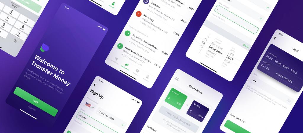 money transfering app