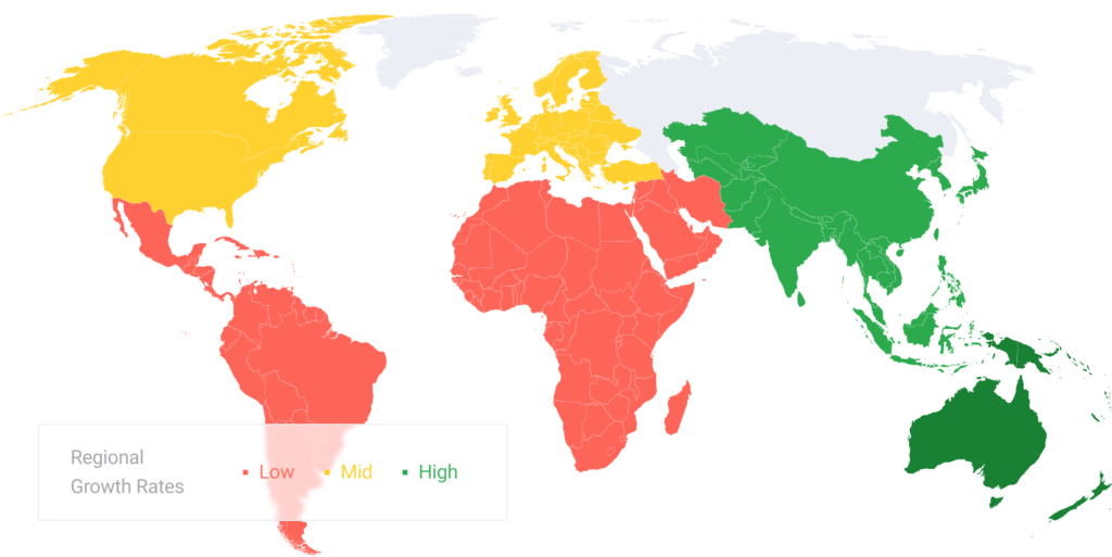 algo trading market map
