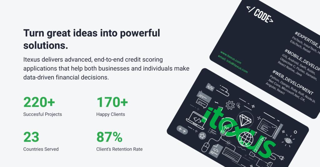 top credit scoring software development